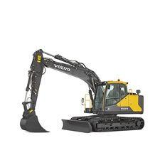 volvo find crawler excavator ec140e t4f walkaround 1000x1000